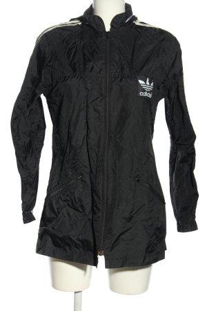 Adidas Sportjack zwart casual uitstraling