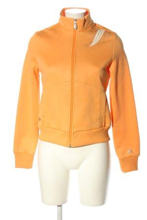 Adidas Chaqueta deportiva naranja claro estilo deportivo