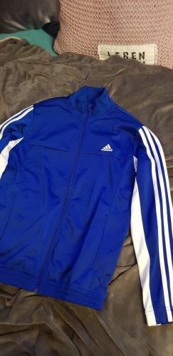 Adidas Originals Sports Jacket white-blue