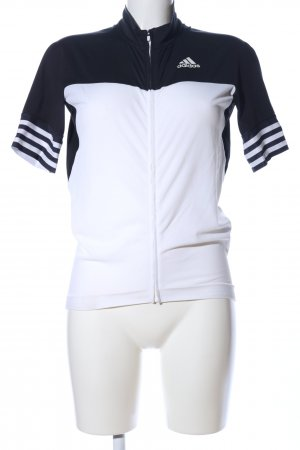Adidas Sports Jacket white-black casual look
