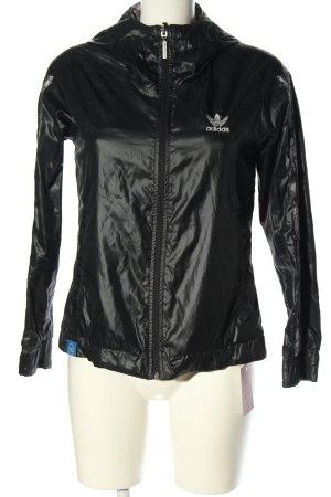 Adidas Chaqueta deportiva negro look casual