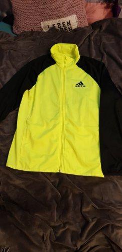 Adidas Originals Sports Jacket black-neon yellow