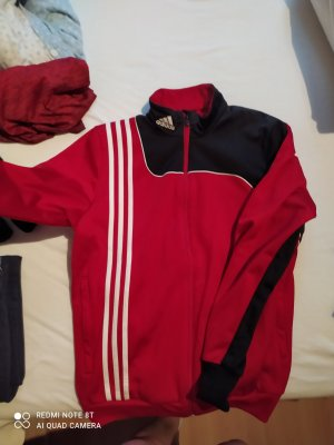 Adidas Sportjack wit-rood