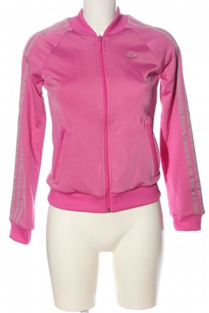 Adidas Sports Jacket pink casual look