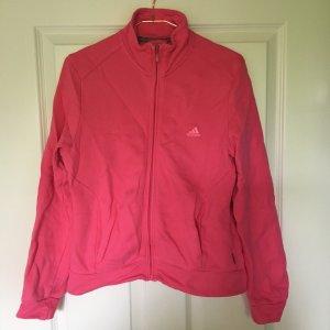 Adidas Sweatjack roze Katoen