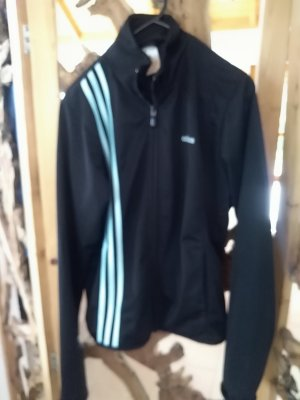 Adidas Sports Jacket black-turquoise