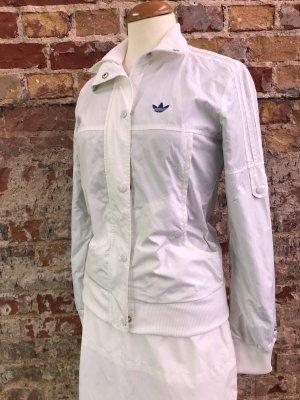 Adidas Kurtka przejściowa biały-niebieski
