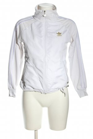 Adidas Chaqueta deportiva blanco look casual