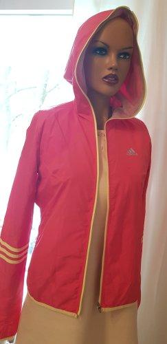 Adidas Originals Giacca sport giallo pallido-fucsia neon