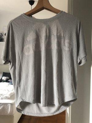 Adidas T-shirt de sport blanc-gris clair