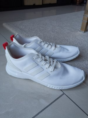 Adidas Originals Basket à lacet blanc-rouge