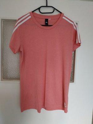 Adidas Camisa deportiva blanco-salmón