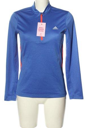 Adidas Camisa deportiva azul estilo deportivo