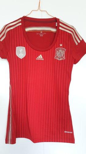 Adidas Sportshirt Fußball Spanien 2014 Gr. S