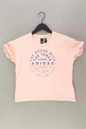 Adidas Sportshirt Größe S Kurzarm rosa aus Baumwolle