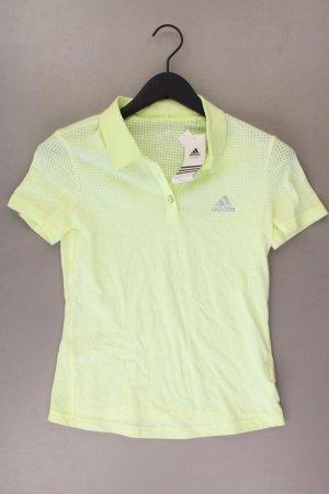 Adidas T-shirt de sport jaune-jaune fluo-jaune citron vert-jaune foncé coton