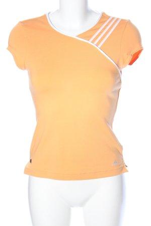 Adidas Sportshirt licht Oranje casual uitstraling