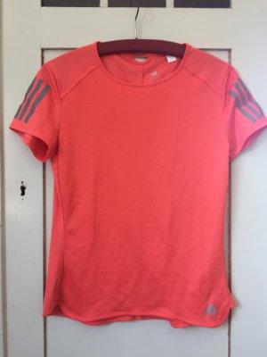 Adidas Koszulka sportowa pomarańczowy neonowy
