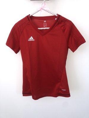 Adidas Canotta fitness rosso-rosso mattone