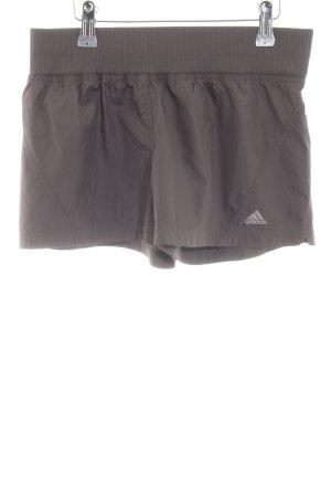 Adidas Sportshorts hellgrau Casual-Look