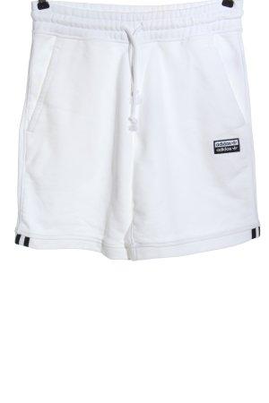 Adidas Sportshorts weiß Casual-Look
