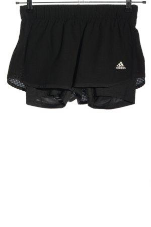 Adidas Sport Shorts black themed print casual look