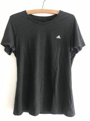 Adidas Koszulka sportowa czarny-szary