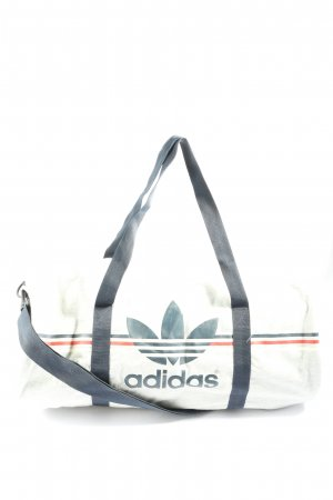 Adidas Sports Bag striped pattern casual look