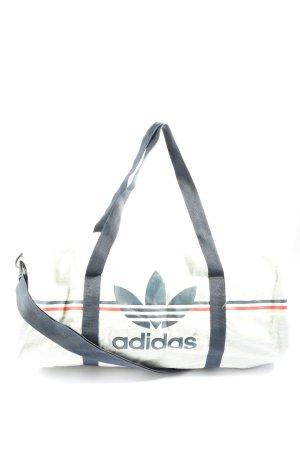 Adidas Bolsa de gimnasio estampado a rayas look casual
