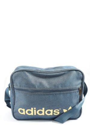 Adidas Torba sportowa niebieski-bladożółty Wydrukowane logo W stylu casual