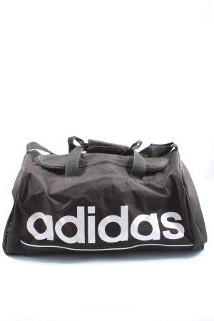 Adidas Torba sportowa brązowy Wydrukowane logo W stylu casual