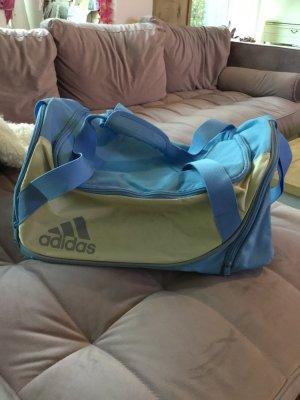 Adidas Bolsa de gimnasio azul claro-beige claro