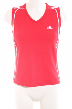 Adidas Sporttop rot Casual-Look