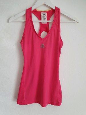 Adidas Sporttop roze-neonroos