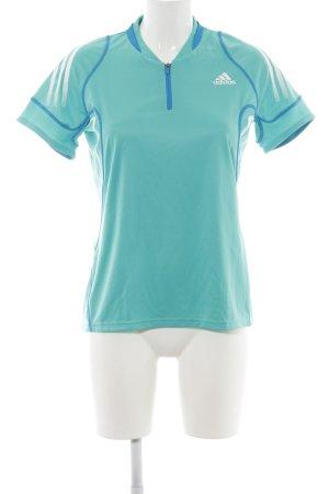 Adidas Sporttop türkis-blau Casual-Look