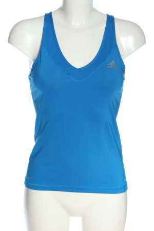 Adidas Sporttop blau schlichter Stil