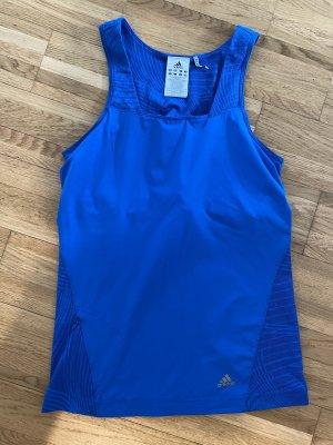 Adidas Top deportivo sin mangas azul