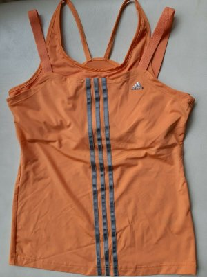 Adidas Mesh Shirt orange nylon