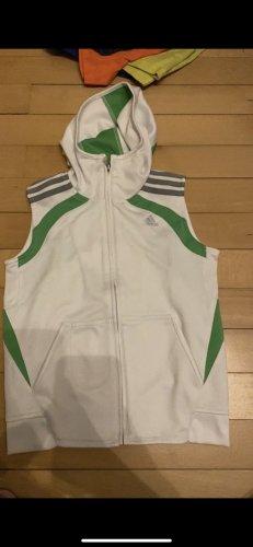 Adidas Sportvest wit-groen
