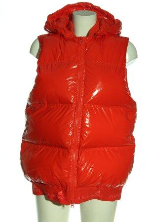 Adidas Kamizelka sportowa czerwony Pikowany wzór W stylu casual