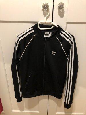 Adidas SST jacke trainingsjacke schwarz größe 34 36 S M