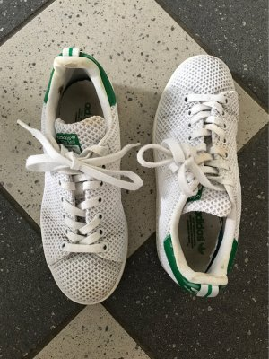 adidas stan smith Lace-Up Sneaker white-forest green