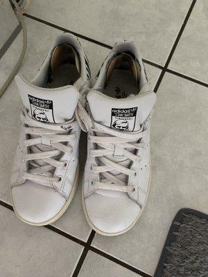 Adidas Stan Smith Adicolor Sznurowane trampki biały-szary