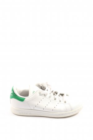 Adidas Stan Smith Adicolor Sneaker stringata bianco-verde stile casual