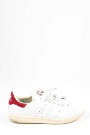 Adidas Stan Smith Adicolor Basket à lacet blanc-rouge