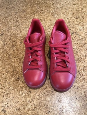adidas stan smith Lace-Up Sneaker red
