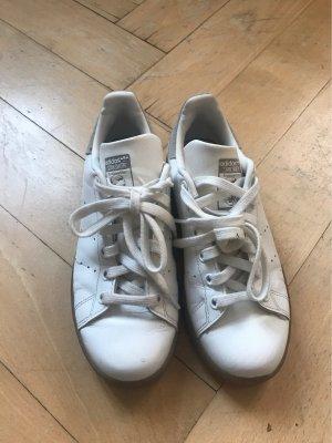 Adidas Stan Smith Adicolor Basket à lacet blanc-beige clair