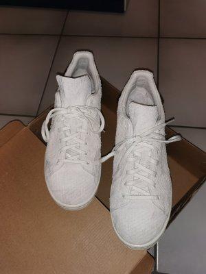 Adidas Stan Smith Adicolor Sneakers met veters zilver-wolwit