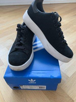 Adidas Stan Smith Bold Turnschuh schwarz