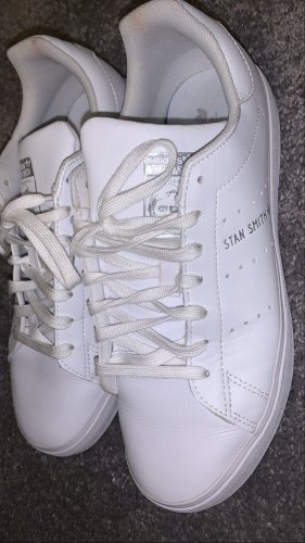 adidas stan smith Basket à lacet blanc